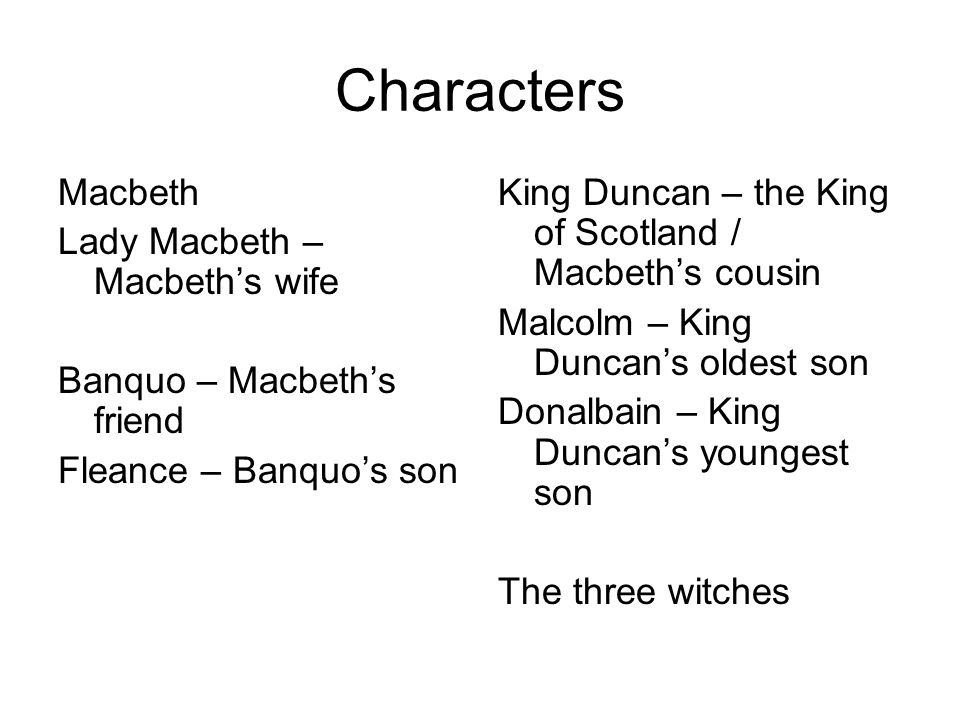 banquo character traits