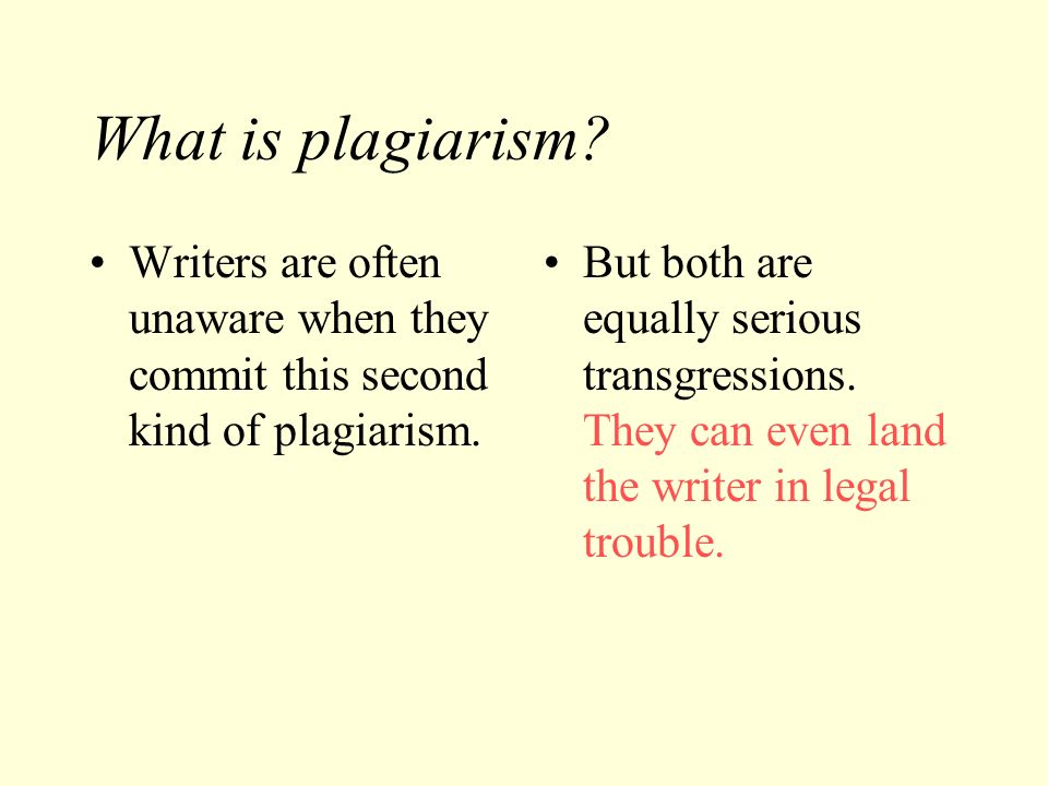 What's the best way to prevent plagiarism among college students?