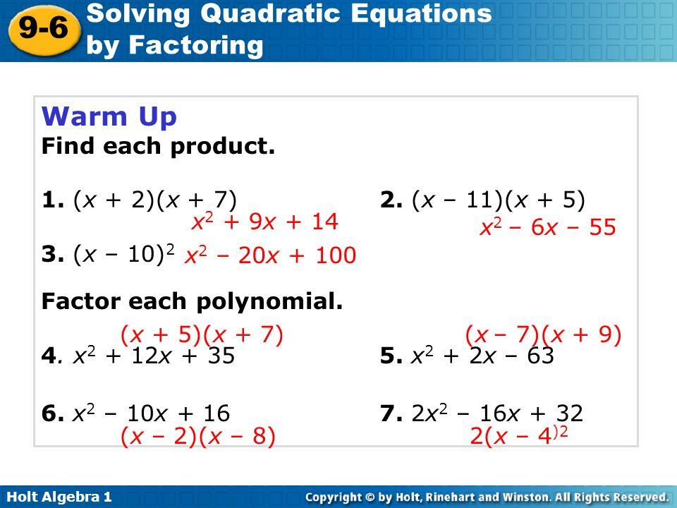 How Do You Solve Quadratic Equations By Factoring Calculator ...