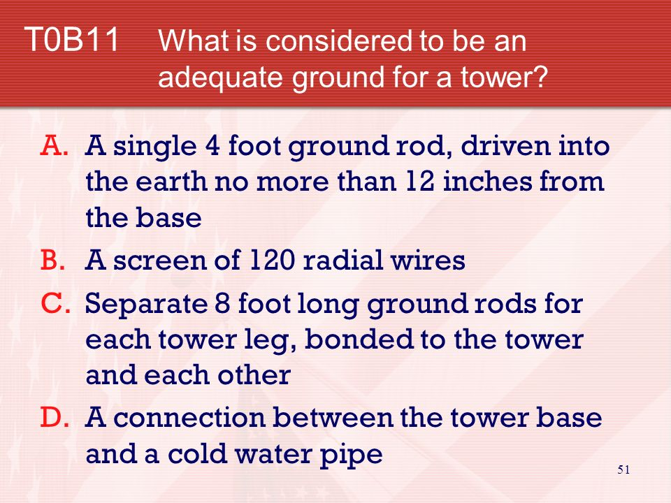 50 T0B10 Why is stainless steel hardware used on many antennas instead of other metals.