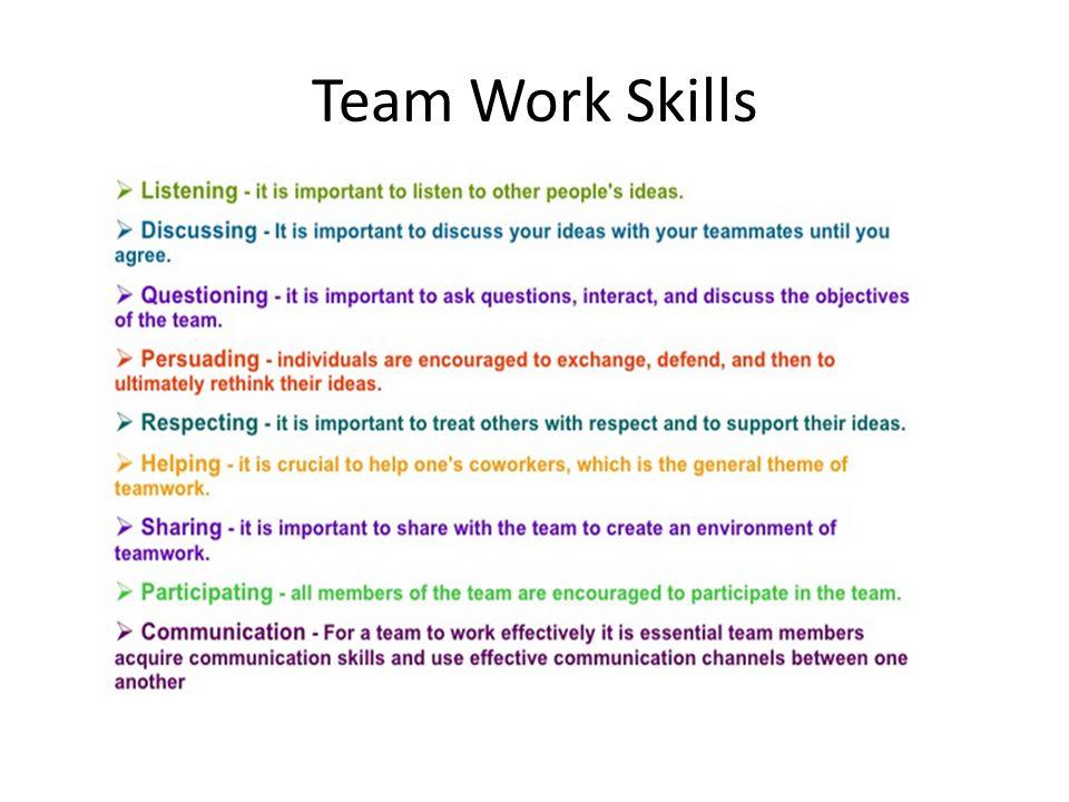 Team Work. Why we need team work Steps in Team Work 10 steps ...