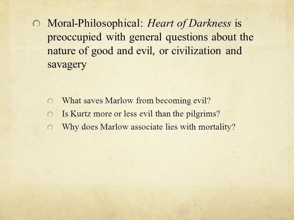 Heart Of Darkness Essay Topics