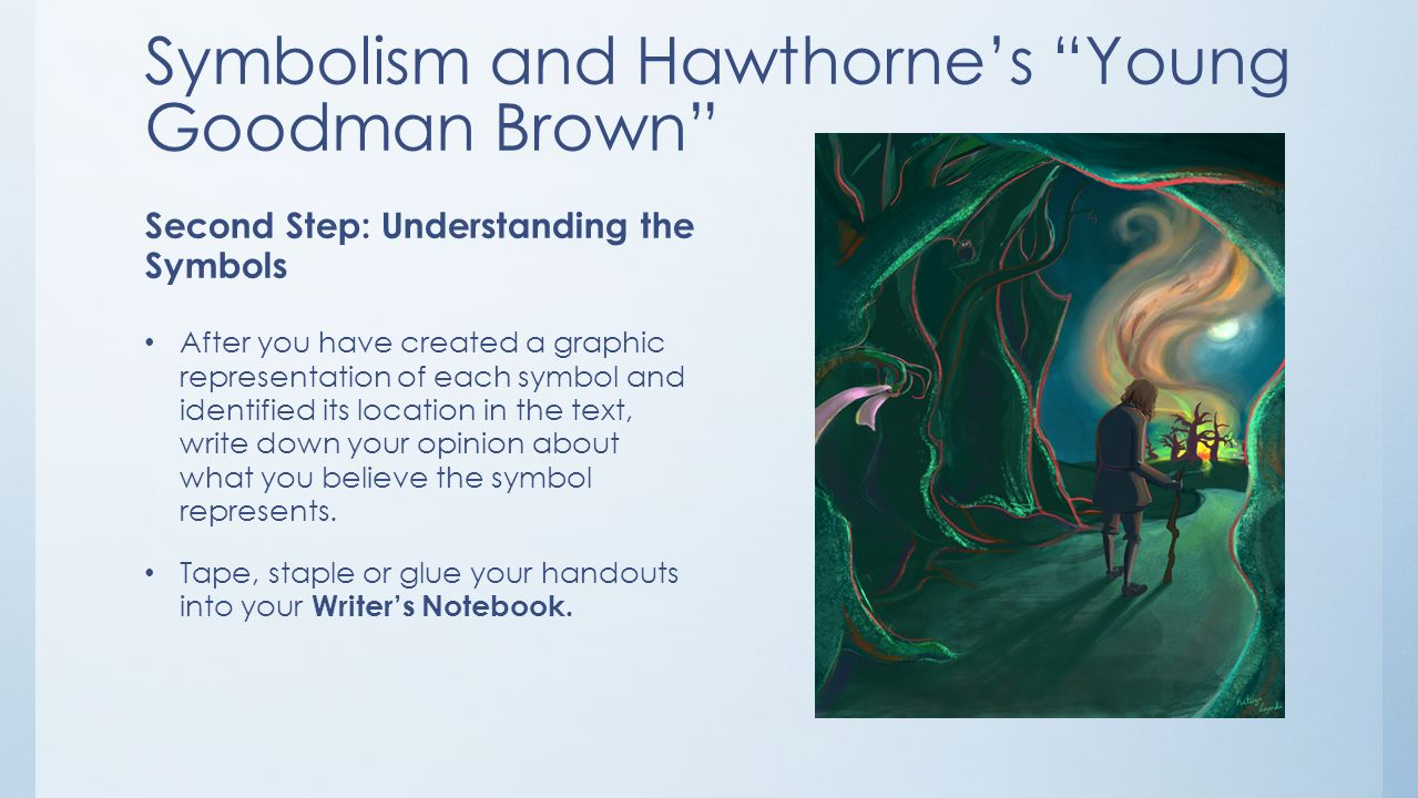 essays on young goodman brown young goodman brown essays analyzing  elements of fiction literary terms techniques in american short symbolism and hawthorne s young goodman brown