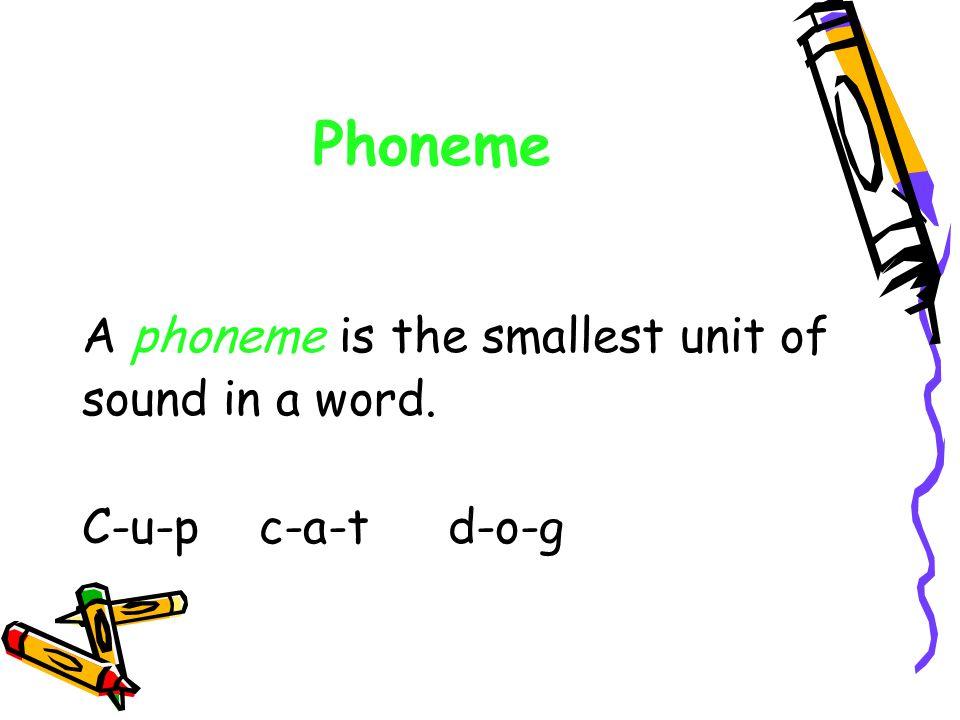 Phoneme?! Phoneme?! Phoneme?!?