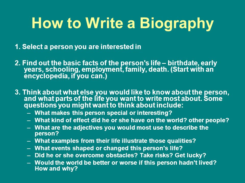writing biographical essays Writing a biography can be confusing at times but with the help of (name of our website) no late submissions with speedypaper essay writing services.