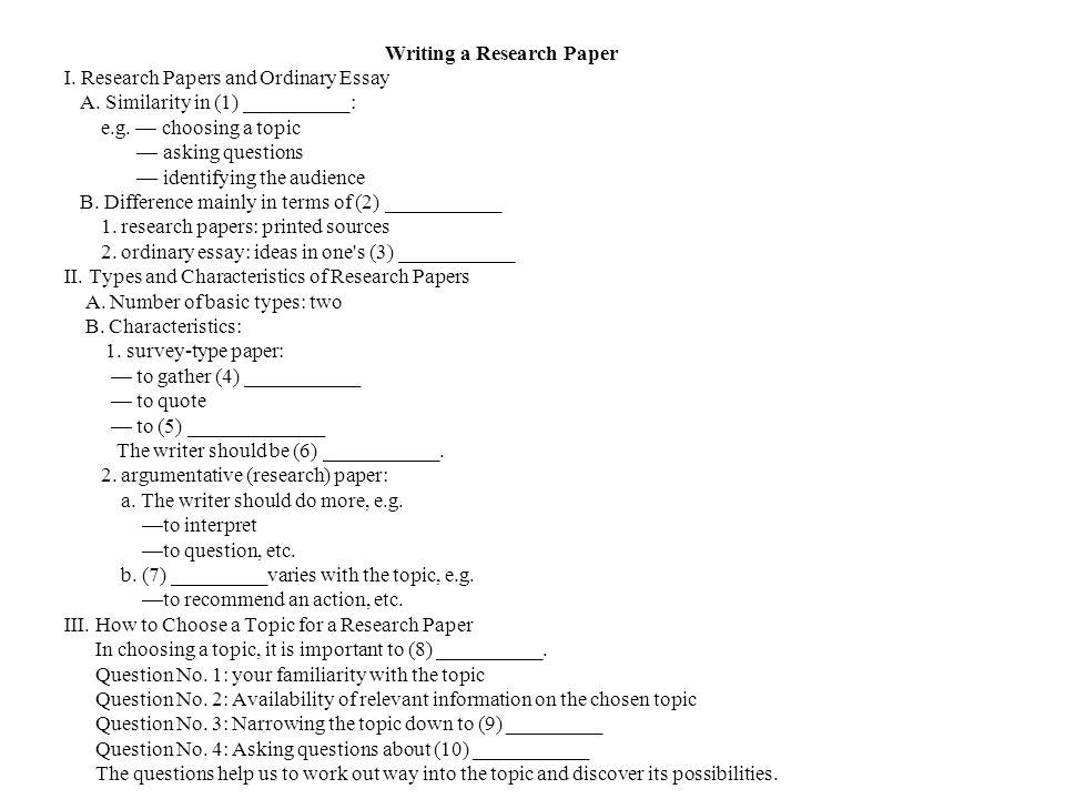 Choosing College Essay Topic