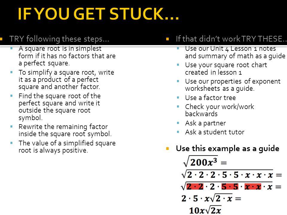 Square Root Simplest Form Denmarpulsar