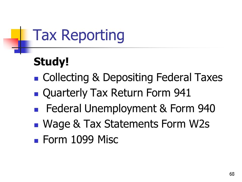 Tax Reporting Fundamental Payroll Certification Chapter ppt download – Unemployment Tax Form