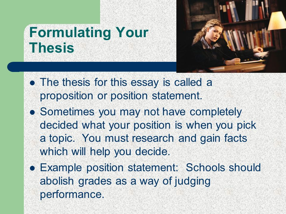 formulating a thesis Developing a thesis for a critical analysis of a poem developing a thesis for a critical analysis of a poem formulating a clearly developed thesis statement is crucial to the development of your essay.