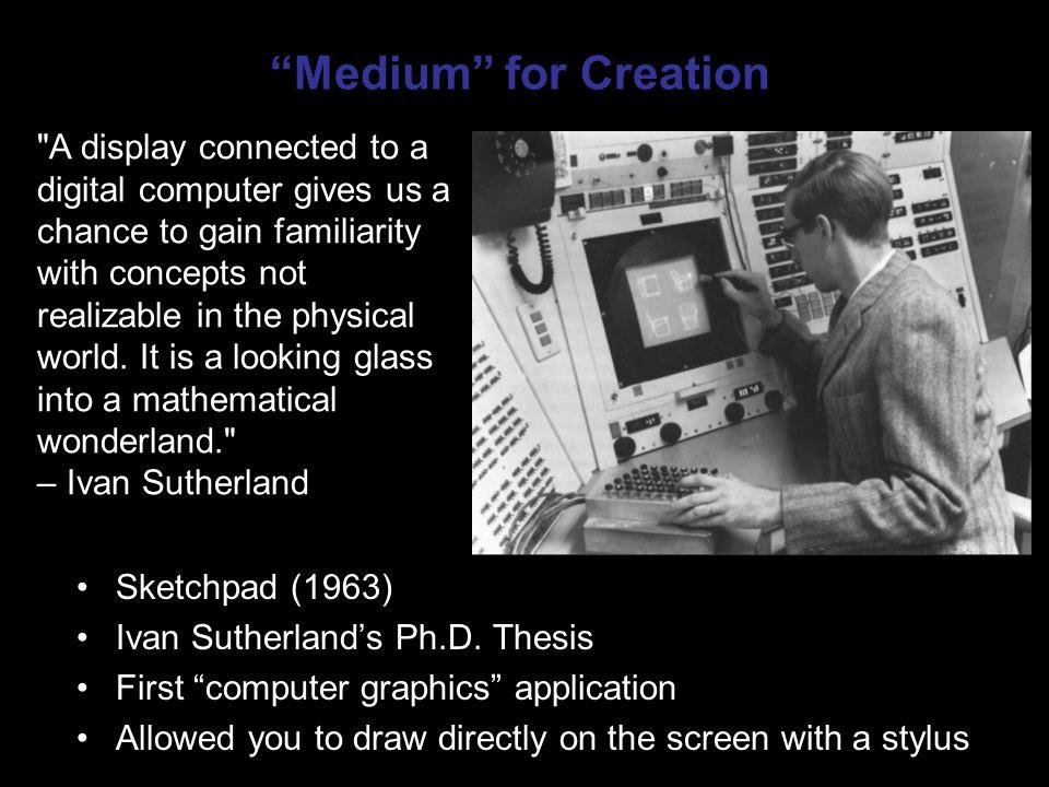 Computer graphics phd thesis