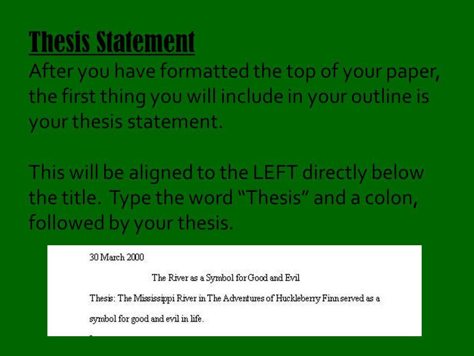 thesis fomat The purpose of this guide is to provide advice on how to develop and organize a research paper in the social sciences.