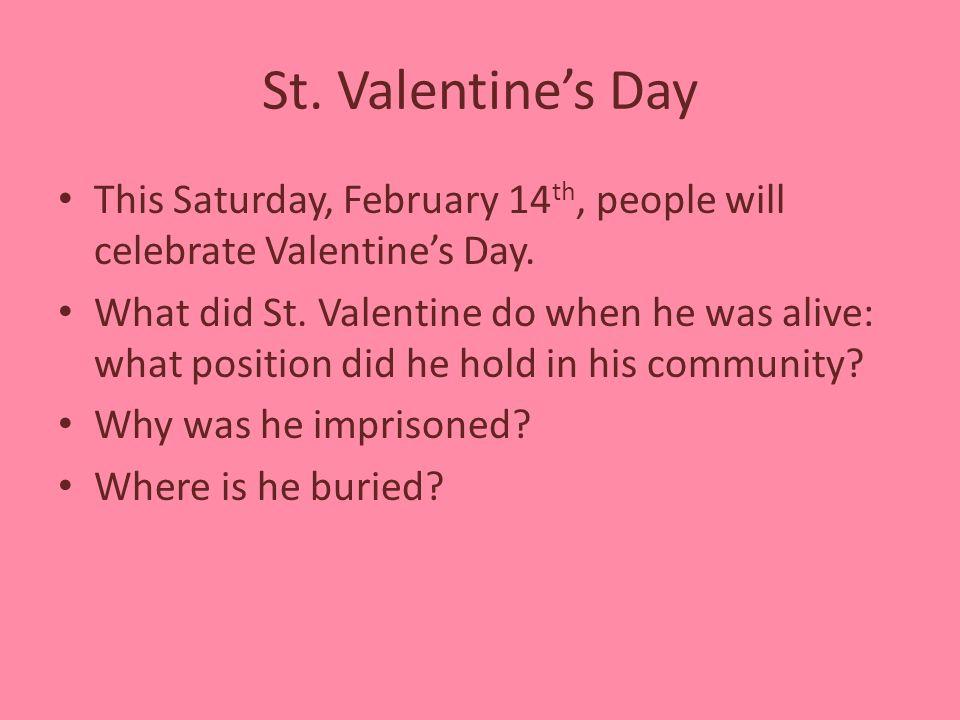 3 St. Valentineu0027s ...