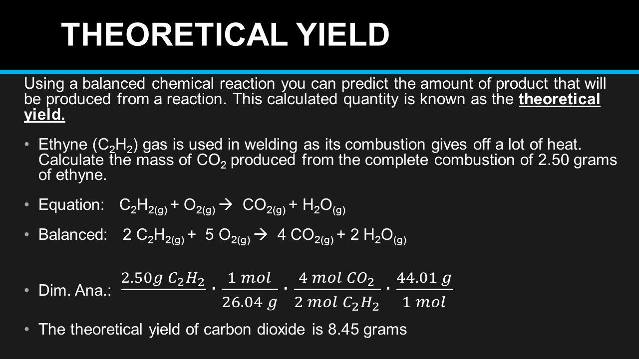 ib chemistry sl stochiometry ia