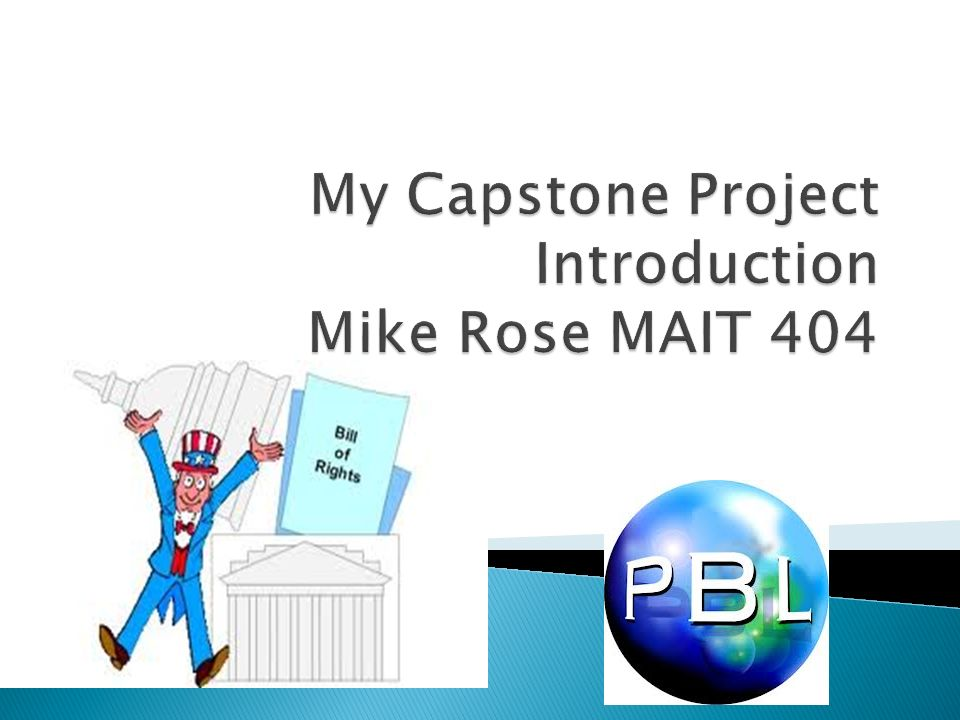 capstone project guidelines Applied management capstone outline and guidelines format apa academic level: masters volume of 30 pages (8250 words) as this is a capstone project.