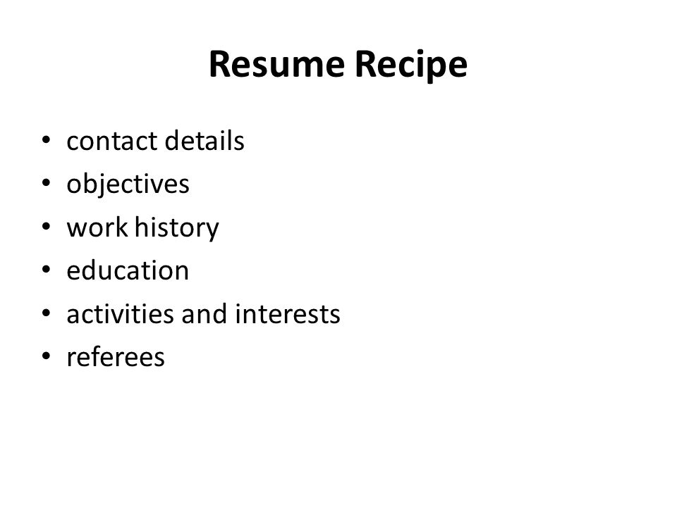 writing resumes your resume tells an employer how well you