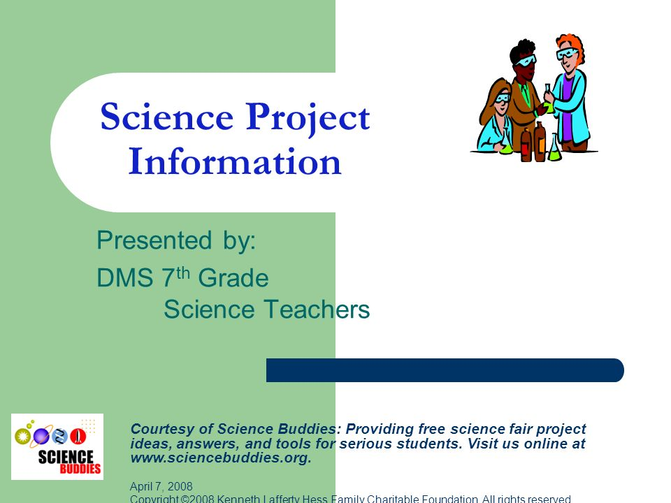 science fair research paper introduction