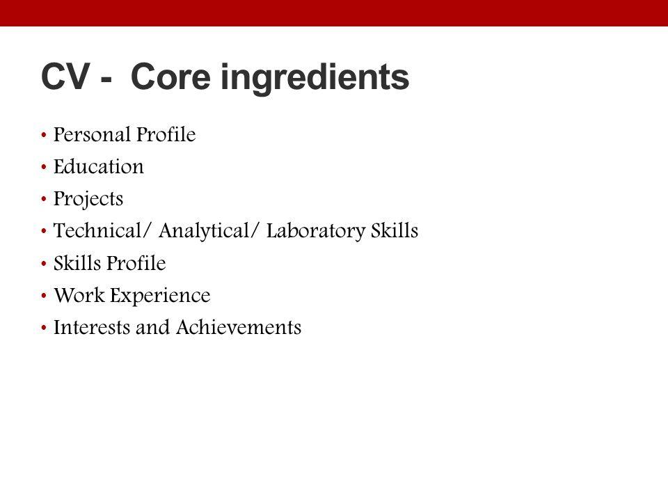 laboratory skills resumes