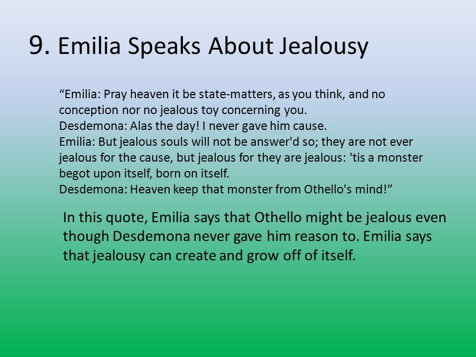 William Shakespeare Othello Jealousy Essay Nicholas Walker