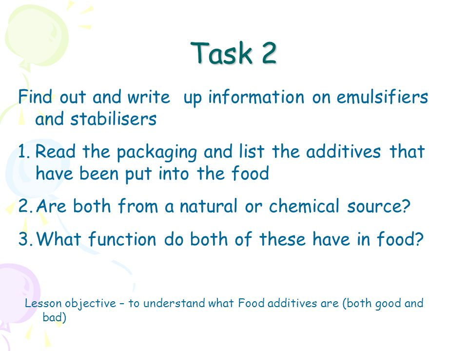 math worksheet : home economics and food nutrition lesson objective  to understand  : Food Additives Worksheet