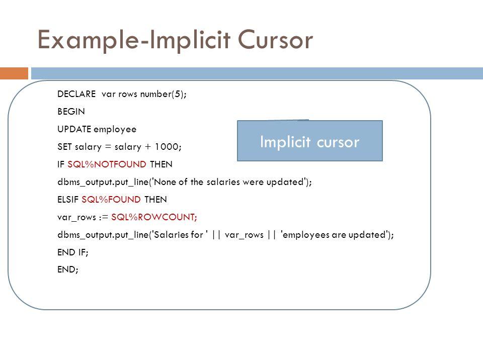 PL/SQL. What is PL/SQL  Procedural Language – SQL  An extension ...