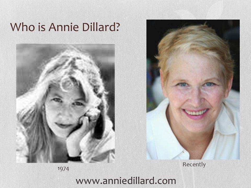 Annie dillard essays