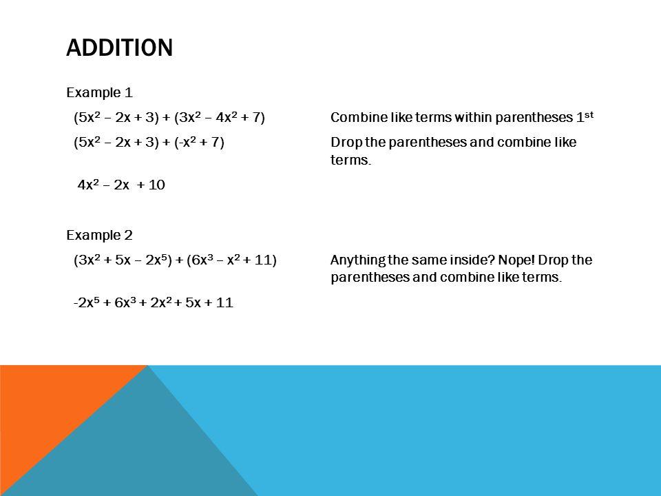 Combining Like Terms With Integers Worksheet - aprita.com