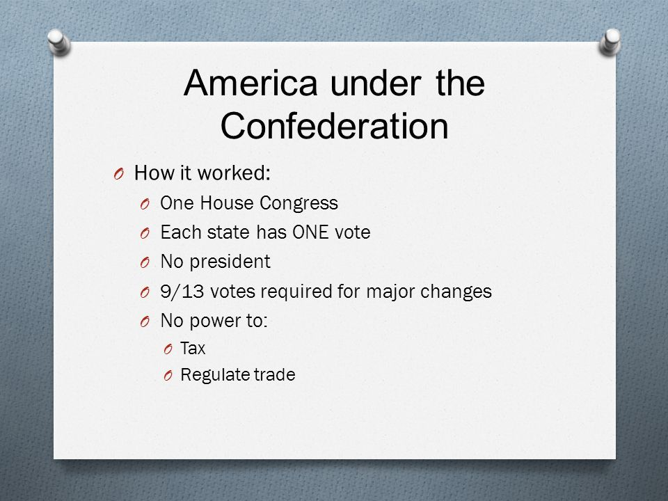 the flaws of the articles of confederation Start studying problems with the articles of confederation learn vocabulary, terms, and more with flashcards, games, and other study tools.