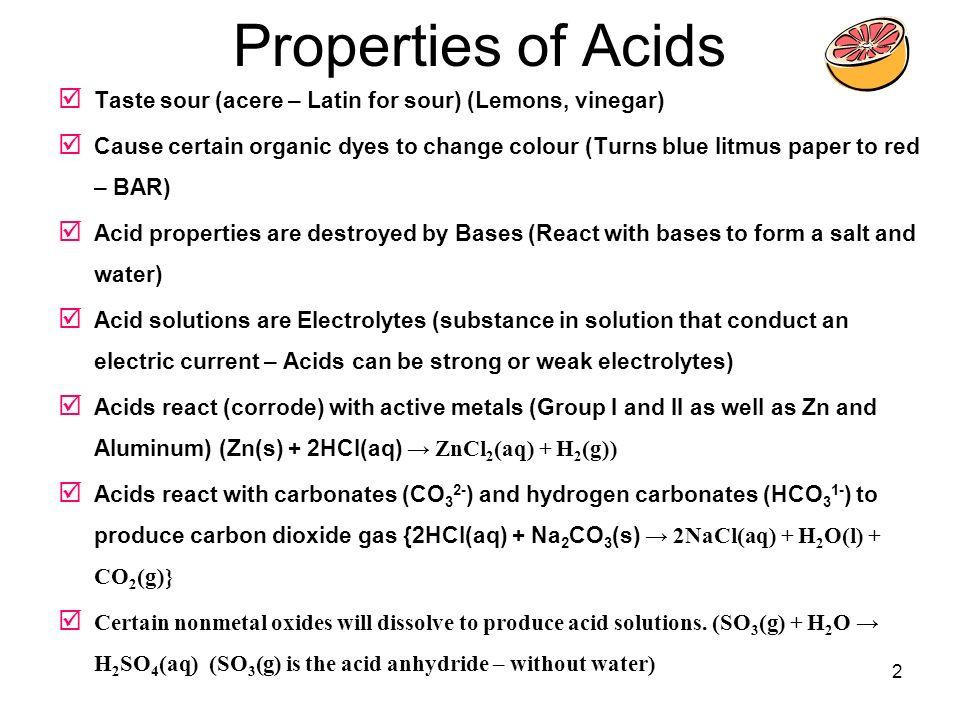 acid definitions