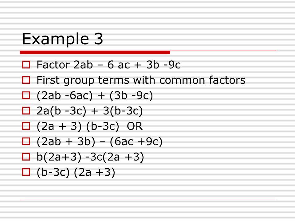 ab factor