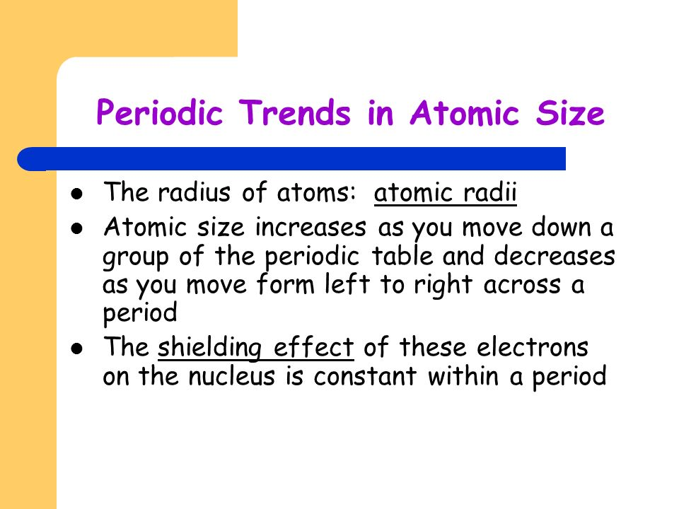 Chapter 5 electrons in atoms development of atomic models dalton 26 periodic trends urtaz