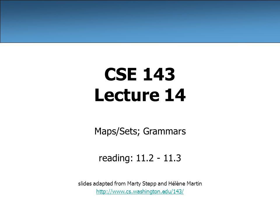 Cse 143 homework pass
