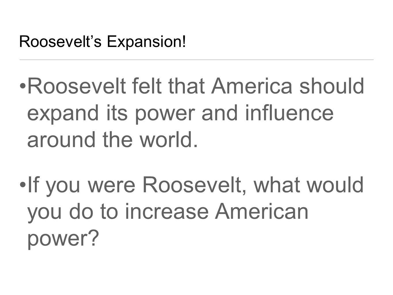 What would u do if u were the president of America?