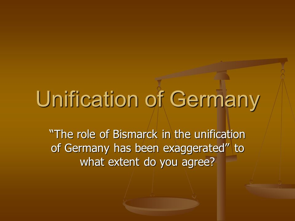 obstacles german unification essay