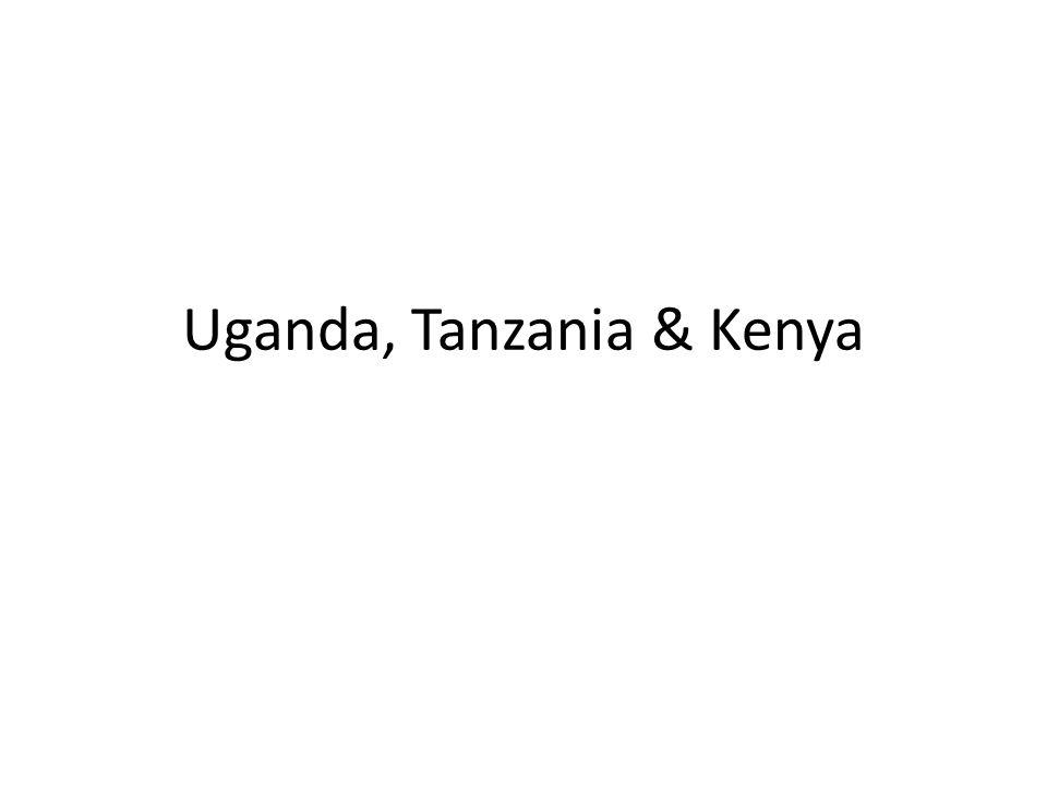 Uganda, Tanzania & Kenya