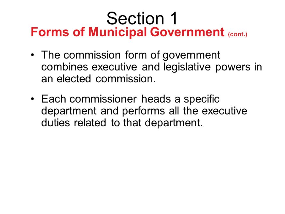 Local Governments Chapter 24 Section1. Created by the State Local ...