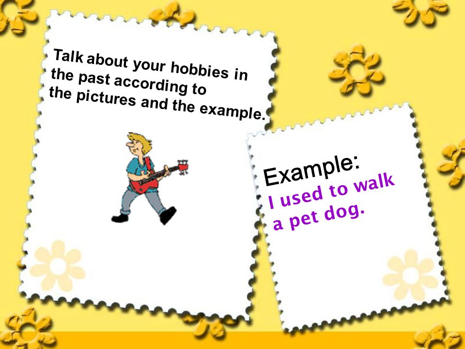 example of hobbies