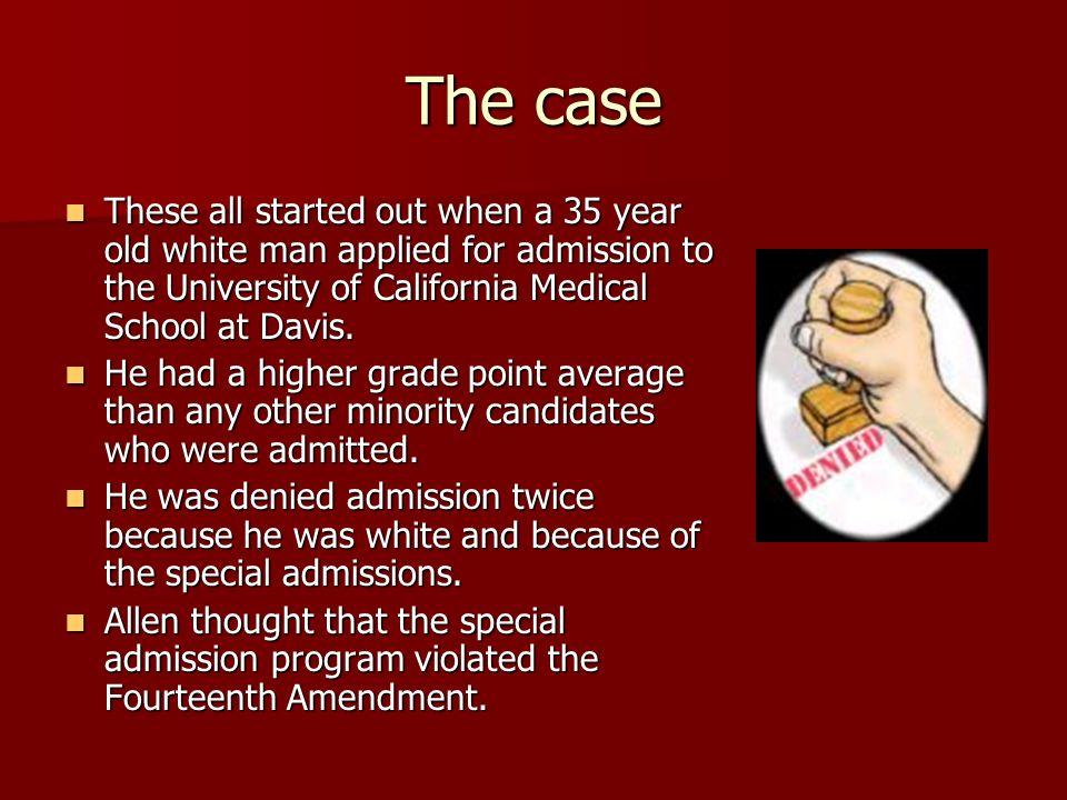 Regents of The University of California v. Bakke By Alicia M ...
