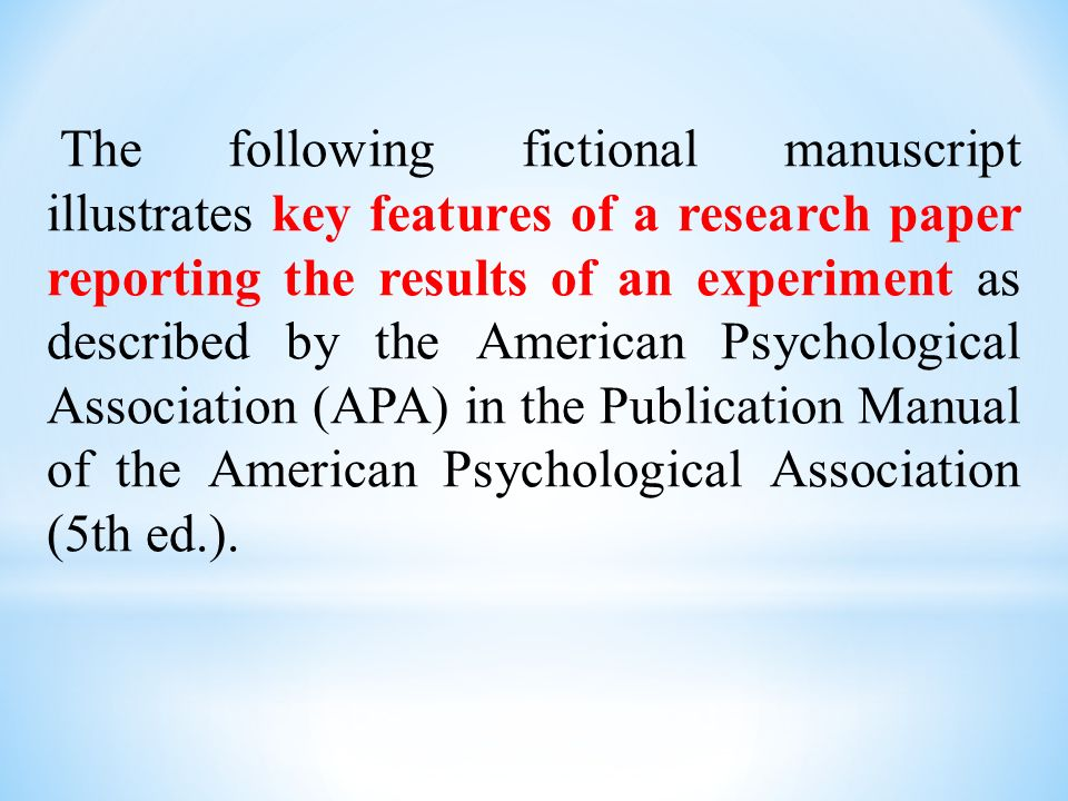 results in research paper biology pdf