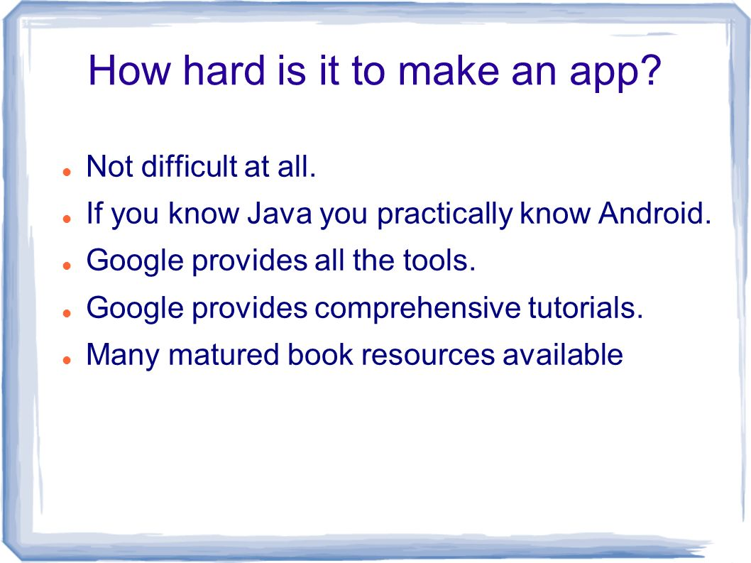 3 How Hard Is It To Make An App?