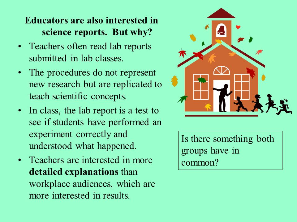 Technical lab report