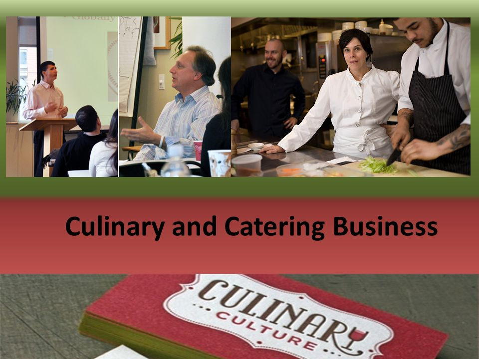 Culinary Business Management