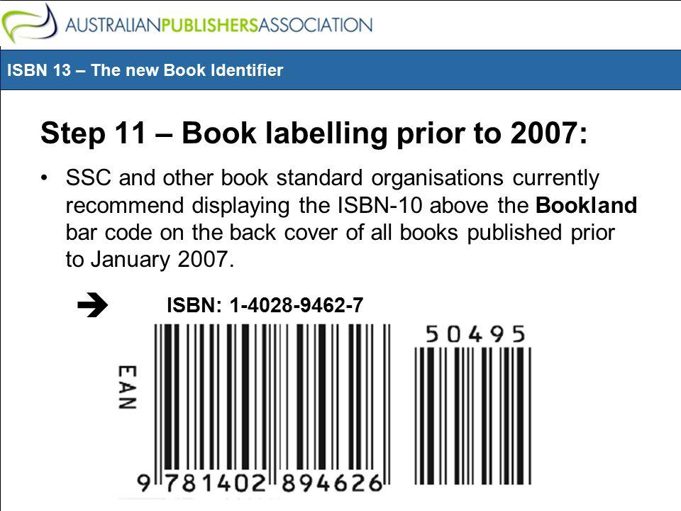 standard code book