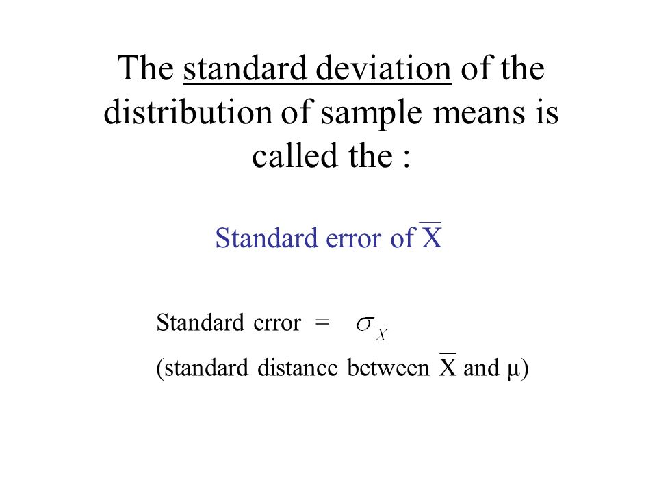 Chapter 7: The Distribution of Sample Means. Frequency of Scores ...
