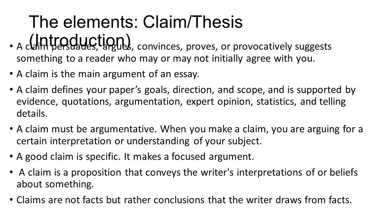 Claim Of Fact Essay Topics Argument Writing The Definition And