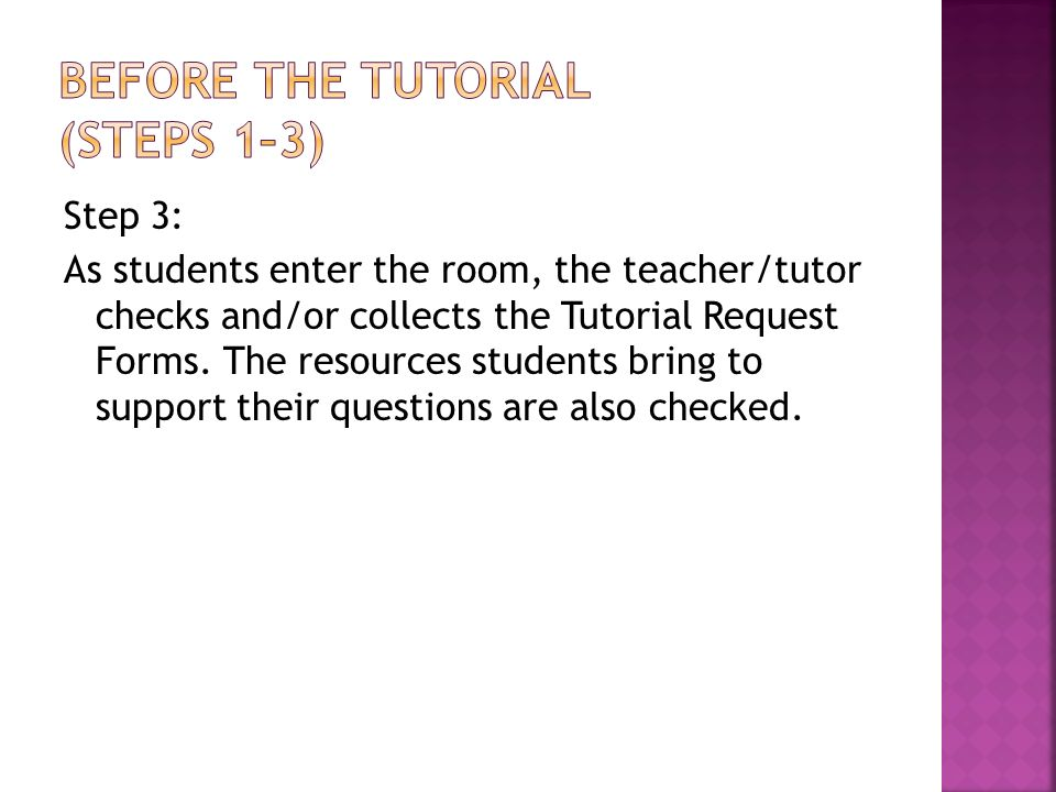 From Avid Tutorial Support Curriculum Resource Guide  Ppt Download