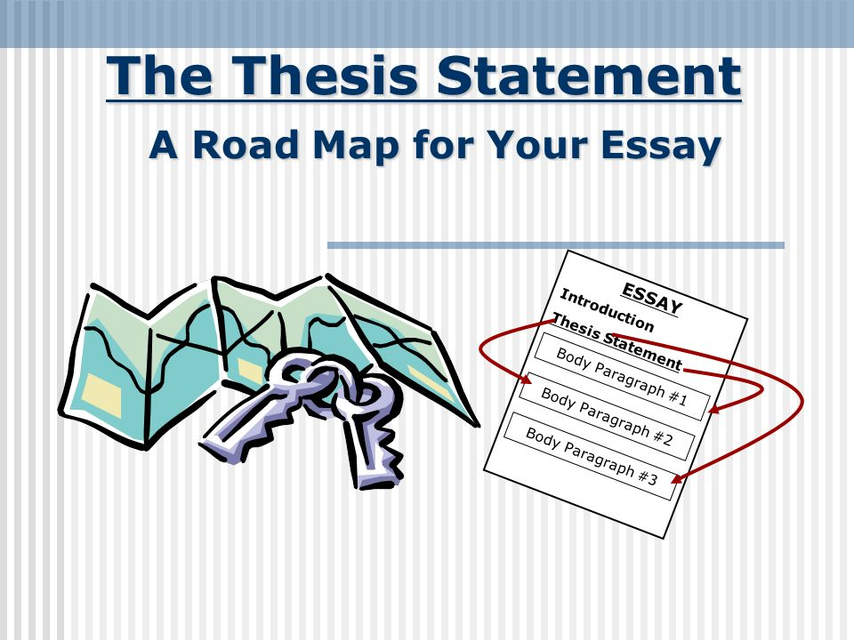 the thesis statement a road map for your essay essay introduction  2