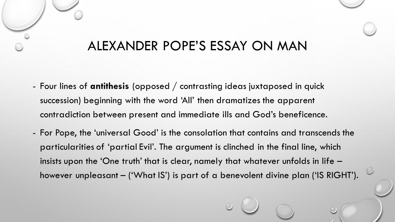 essay on man bhavesh mishra essay definition essay for you file  voltaire candide or optimism prepared by dr hend hamed alexander pope s essay on man four