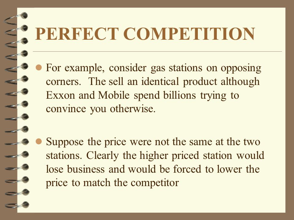 Perfect Competition Microeconomics Made Easy By William Yacovissi