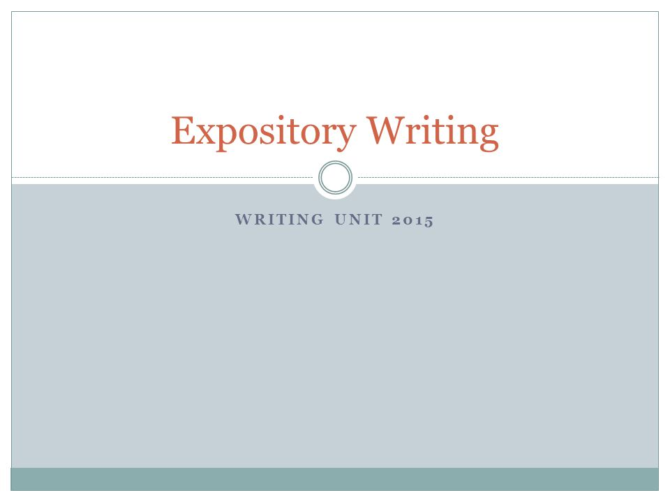 Can this be a correct way to write an expository essay?