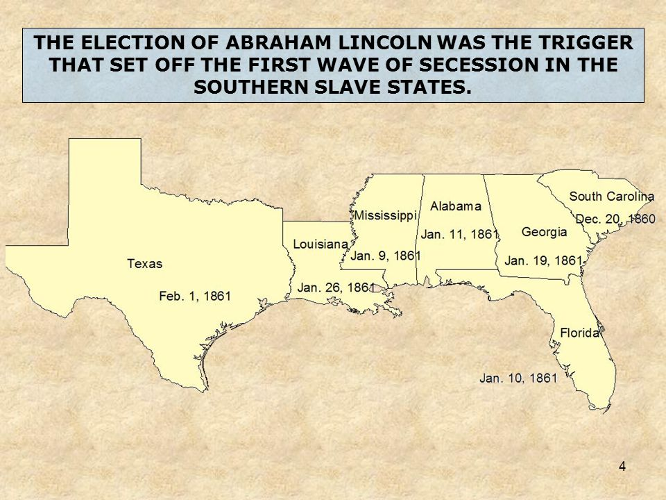What were the most divisive factors in the years leading to southern sessecion?